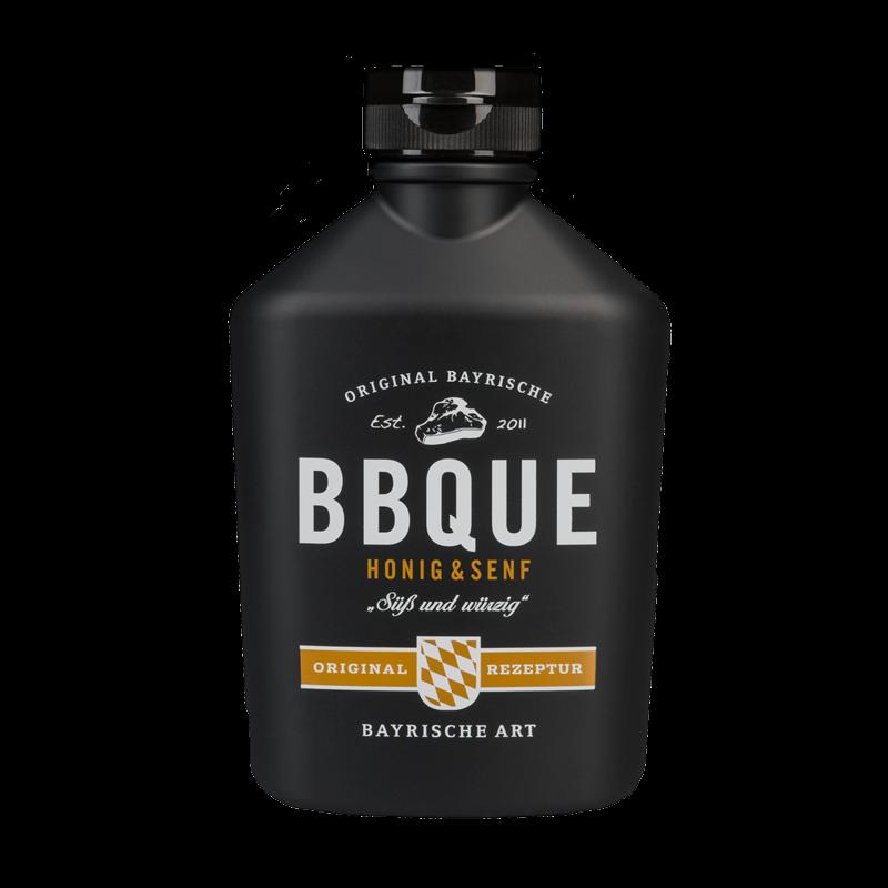 bbque honig senf original bayrische barbecue sauce 4 49. Black Bedroom Furniture Sets. Home Design Ideas
