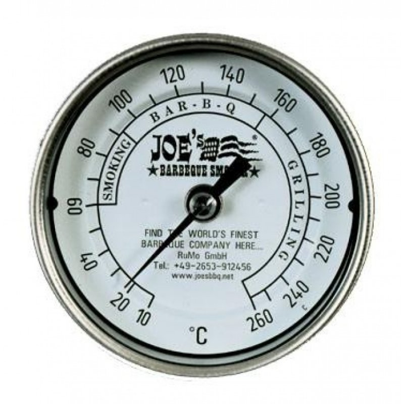Edelstahltermometer für JOE'S BBQ SMOKER, 59,50