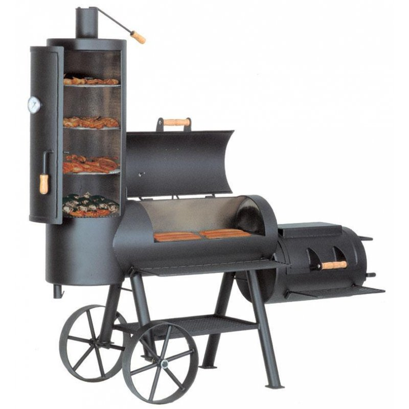 joes barbeque smoker 16er chuckwagon online kaufen im bbq laden. Black Bedroom Furniture Sets. Home Design Ideas