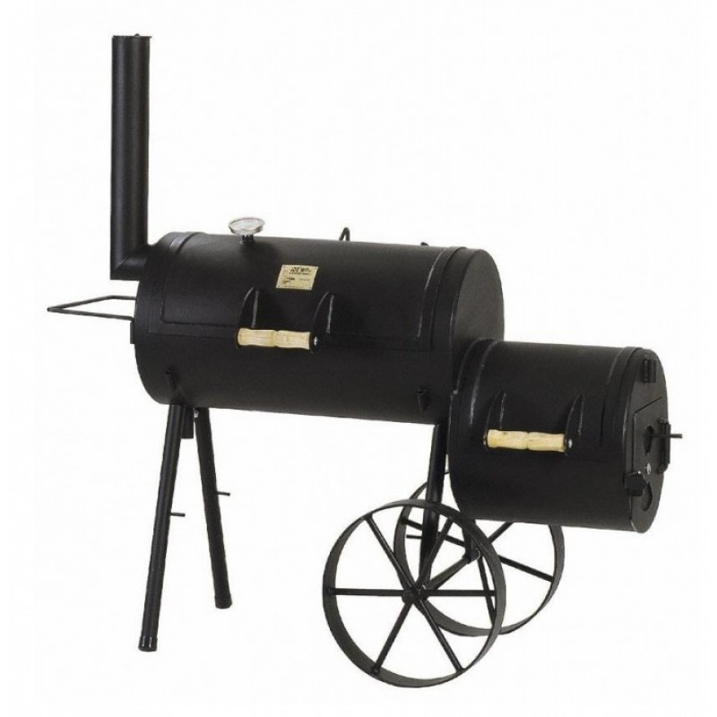 joe 39 s barbeque smoker 16er wild west aktionsmodell hier online kaufen. Black Bedroom Furniture Sets. Home Design Ideas