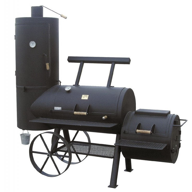 joes barbeque smoker 24er chuckwagon catering online. Black Bedroom Furniture Sets. Home Design Ideas