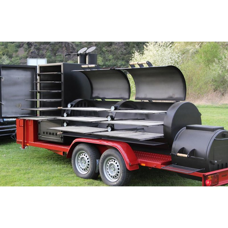 joes barbeque smoker 30er extended catering trailer 27. Black Bedroom Furniture Sets. Home Design Ideas