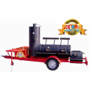 JOEs BARBEQUE SMOKER 24er Extended Catering Trailer