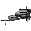 Meadow Creek BBQ Smoker Trailer TS250