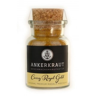 Ankerkraut Curry Royal Gold, Korkenglas 80g