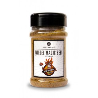 Ankerkraut Wiesel Magic Beef, BBQ Rub im Streuer 200g