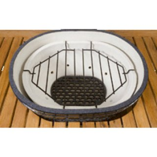 Drip Pan Rack / Auffangschalen-Roste für den Primo Oval 400 XL 2er Set