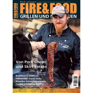 Fire & Food N. 3/15 Grillen und Barbecuen