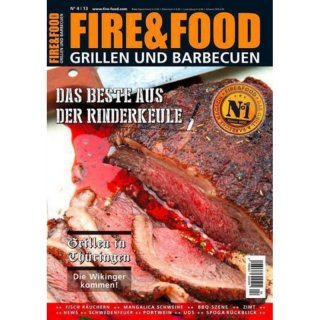 Fire & Food N. 4/13 Grillen und Barbecuen