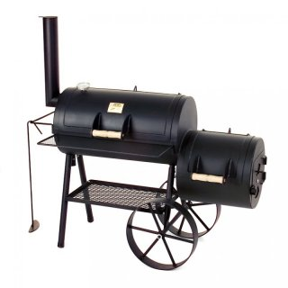 *AKTION* JOEs BARBEQUE SMOKER 16er Tradition inklusive Deckelhalter
