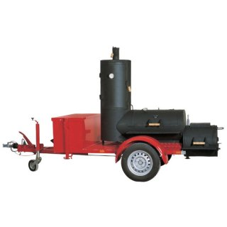 JOEs BARBEQUE SMOKER 20er Catering Trailer