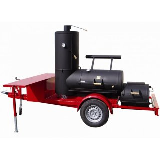 JOEs BARBEQUE SMOKER 24er Catering Trailer