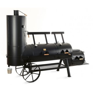 JOEs BARBEQUE SMOKER 24er Chuckwagon Extended Catering