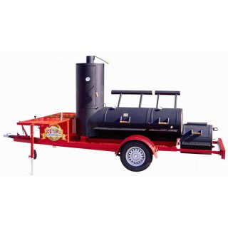 Miete den JOEs BARBEQUE SMOKER 24er Extended Catering Trailer