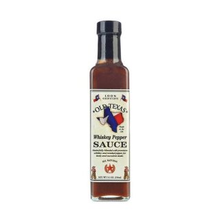 OLD TEXAS Whiskey Pepper Steak Sauce