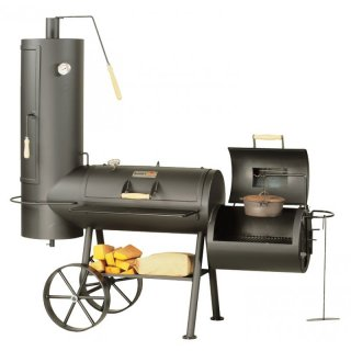 SMOKY FUN BBQ SMOKER Big Chief 5 Barbecue Smoker Grill