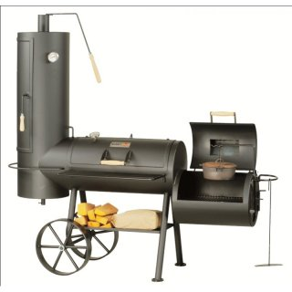 SMOKY FUN BBQ SMOKER Big Chief 6 Barbecue Smoker Grill