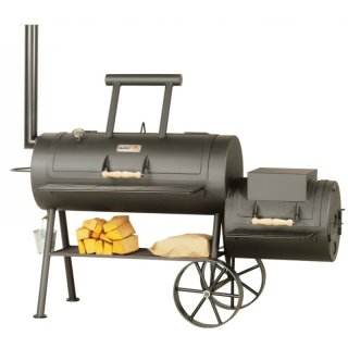 SMOKY FUN BBQ SMOKER Party Wagon 20 Barbecue Smoker Grill
