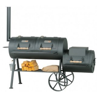 SMOKY FUN BBQ SMOKER Party Wagon 24 Barbecue Smoker Grill