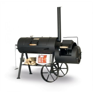 SMOKY FUN BBQ SMOKER Party Wagon 6 reverse flow Barbecue Smoker Grill