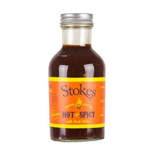 Stokes BBQ Sauce Hot & Spicy 250ml
