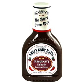Sweet Baby Rays Raspberry Chipotle Barbecue Sauce