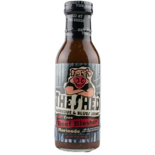 The Shed Beef Blaster Marinade