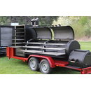 JOEs BARBEQUE SMOKER 30er Extended Catering Trailer