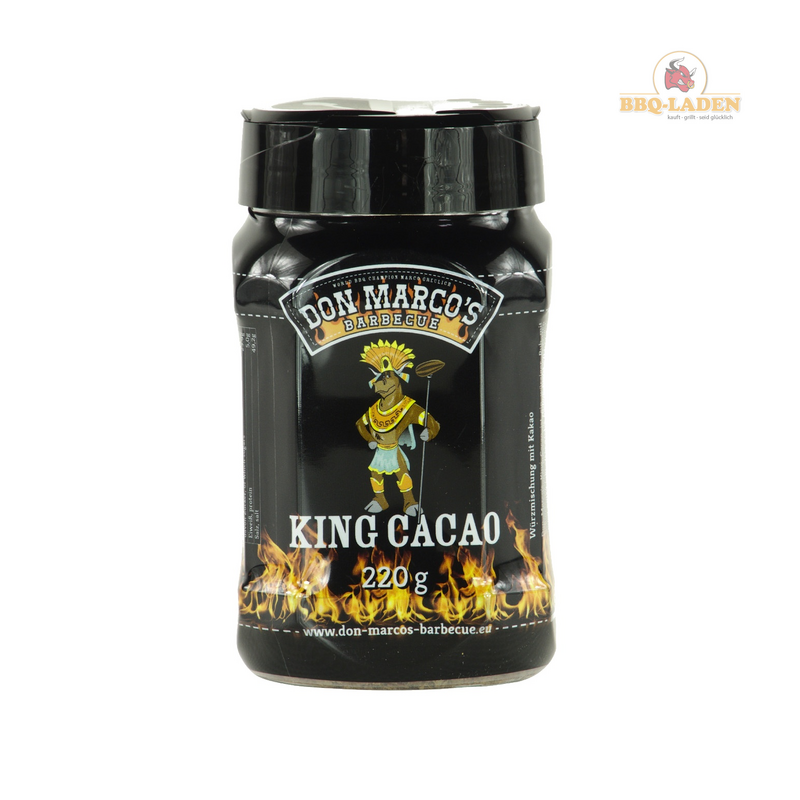 DON MARCOs King Cacao Rub Streuer 220g