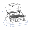 TOP-LINE - ALLGRILL CHEF L - BUILT-IN  mit Air System