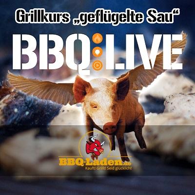Grillkurs, BBQ Kurs, Buxtehude geflügelte Sau
